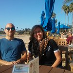 On the Beach at Shoreline Cafe