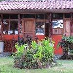 Cute, comfortable rooms with semi private,social veranda