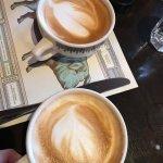 Cappuccinos were delish!