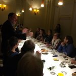VIP Dinner for 18 in the wine room for bentoforbusiness.com - Il Fornaio made it memorable!