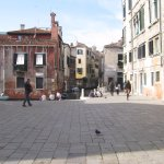 there is less traffic in Santa Croce