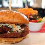 Crispy Pork Schnitzel Burger