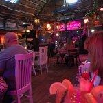 Bar Side w/Reggae Band Big Conch Drink