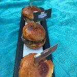 Mini slide burgers