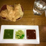 Salsa Verde : incredible. Guac : fresh and tasty. Red sauce : delicious! Chips: warm and fresh!