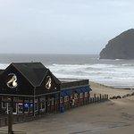 Brew pub on the beach!