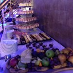 Desserts (buffet) at the dinner cruise