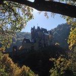 Burg Eltz from the lower footpath.