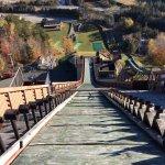 Ski jump in Lake Placid