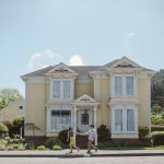 Classic Victorian architecture abounds in Ferndale, CA... an outstanding place to visit!