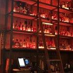 Whiskey shelves