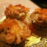 Crab curry puffs