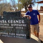 Casa Grande ruins, we saw next day nov 2017