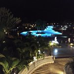 Pool at night is very beautiful. The pool is quite wonderful for a few reasons.