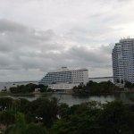 vista desde habitación del edificio laguito