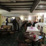 the pub and dining area