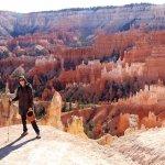Me at Bryce Canyon - I feel so small!