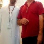 The kindest man (volunteer) in UAE ;) I'm in love :D