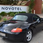 Arriving at the novotel
