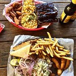 Pulled Pork and Ribs combo