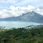 lake view from top of mount batur