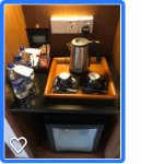 Mini Bar + coffee maker