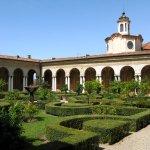 Мантова, палаццо Дукале, висячий сад