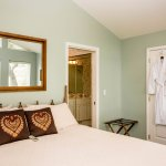 King beds in every luxurious private cottage.