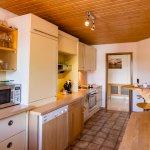 Küche der Suite Reichenaublick