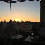 Sunset from the Cafe Arabe