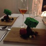 Dessert - depicting the New Forest