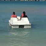 free pedalos at mo bay beach