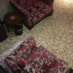 Glad we chose the CHINESE Style Suite, lovely colors & upholstery