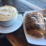Cafe Dolce Cappucino & Chocolate Croissant, Norwalk CT