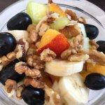 Famous greek breakfast