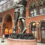St. Pancras International Station Foto