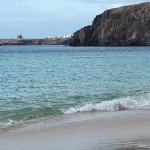 Short walk to Playa Papagayo beach (best in Lanzarotte)