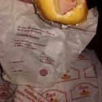 Ham and cheese panzerotti