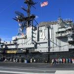 Bridge of the USS Midway