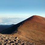 Hawaiian sacred ground at Mauna Kea summit