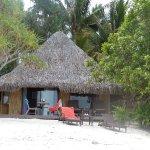 bungalow sur la plage