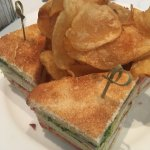Club Sandwich Homemade Chips