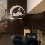 bar opposite reception
