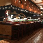 The sushi bar at Joss
