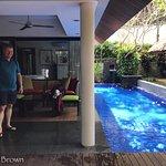 Private pool at villa 11