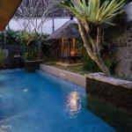 Private pool in villa 11