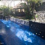 Private pool - villa 11 - and outdoor gazebo