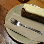 Carrot cake and lemon tarte