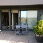 Terrasse mit Sunbeds
