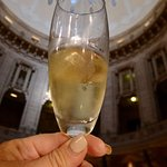 Cheers!  Sparkling wine served round the clock!